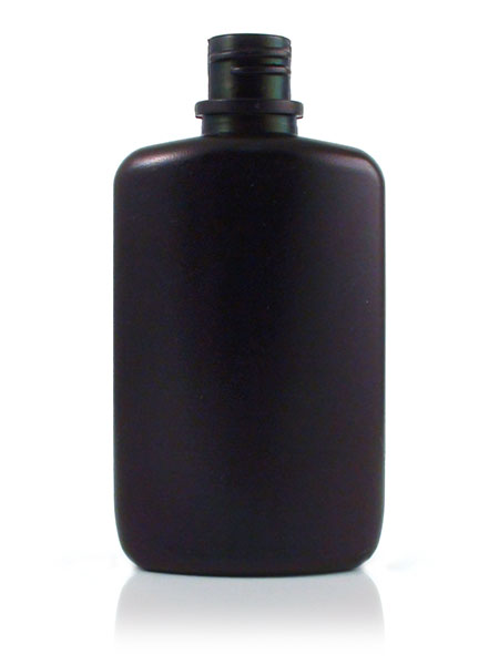 2 Oz Black Ldpe Oval Bottle With 83 400 Neck Finish